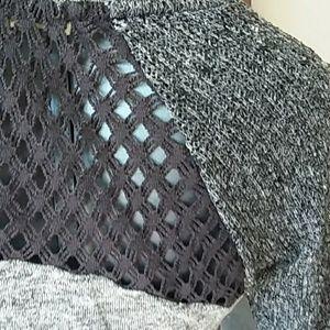 Anthropologie Tops - SCRAPBOOK 3/4 sleeve crochet detail plaid ruffle
